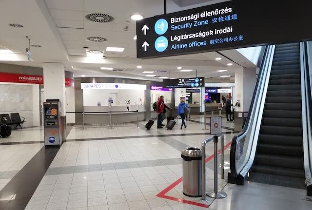 Терминал аэропорта Будапешт
