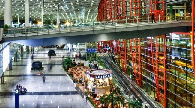 дизайн терминала аэропорта Шоуду