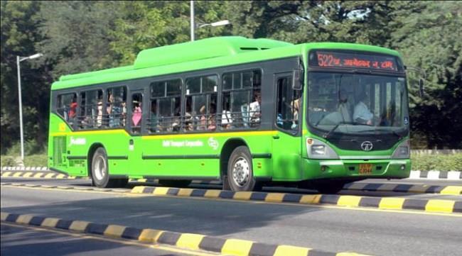 До города на автобусе