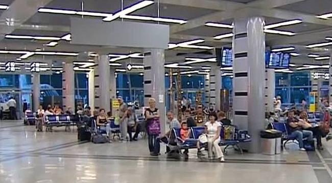 В терминале аэропорта Минеральные Воды