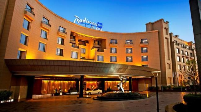 Отель Radisson Blu Plaza, Дели Индия