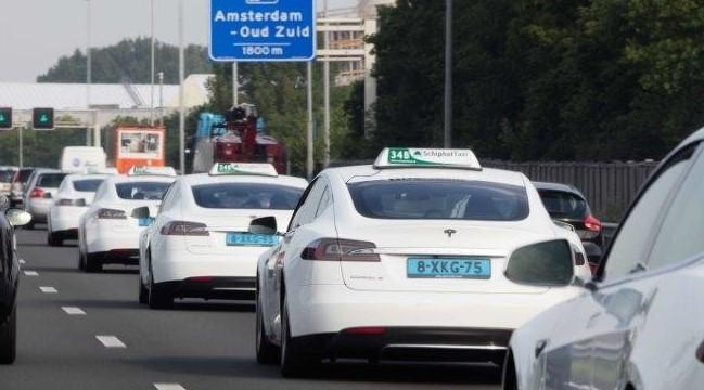 Из аэропорта до центра Амстердама на такси