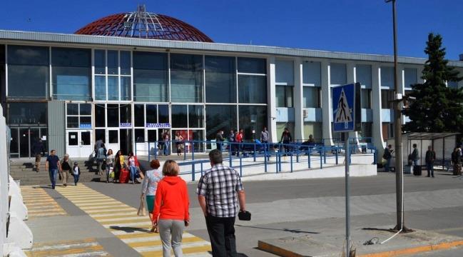 Здание Аэропорта Храброво в Калининграде