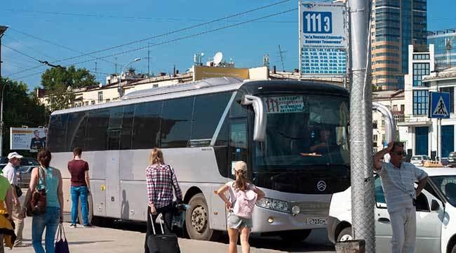 До вокзала Новосибирска на автобусе-шаттле