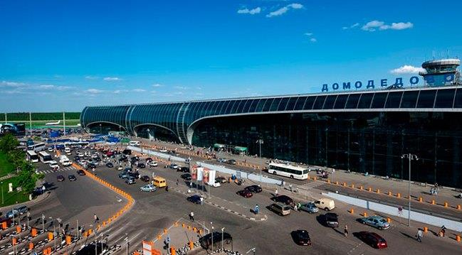 Территория московского аэропорта