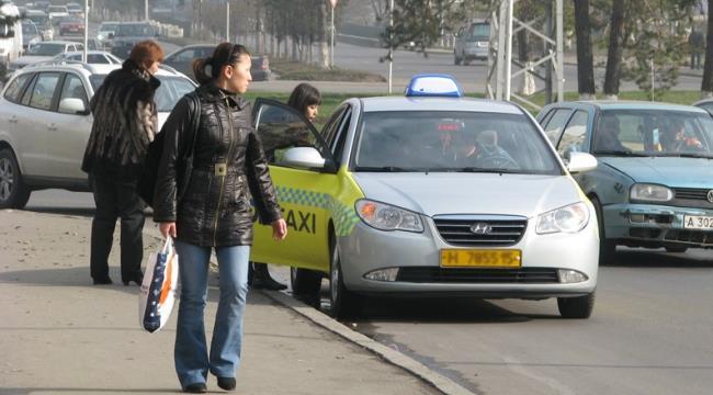 Такси в казахском аэропорту