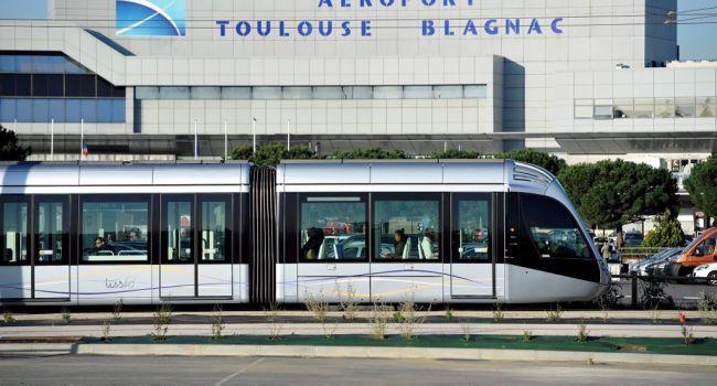 Из аэропорта Бланьяк на трамвае