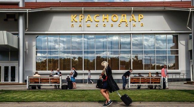 Здание краснодарского аэропорта