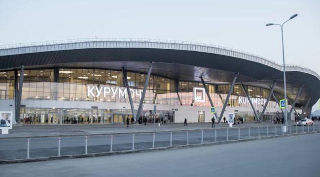 Здание аэропорта Самары