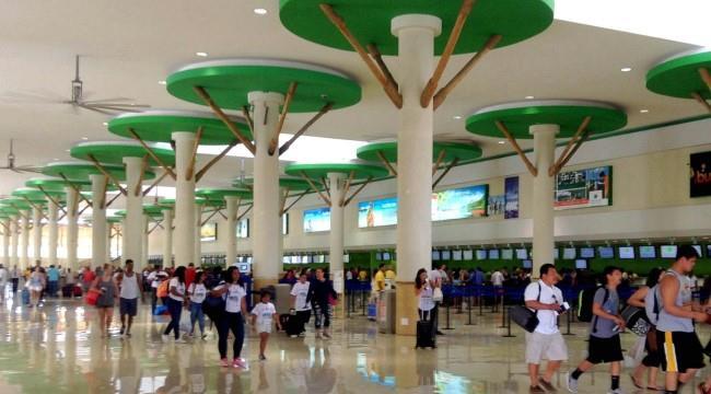 В международном терминале аэропорта Пунта Кана