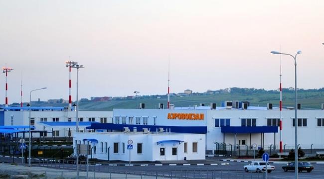 Пока пассажиров принимает временный терминал, открытый в 2010 г.