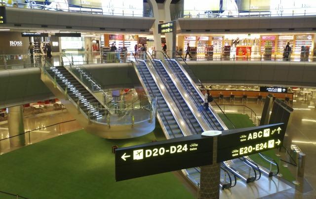 Терминал аэропорта Хамад в Катаре