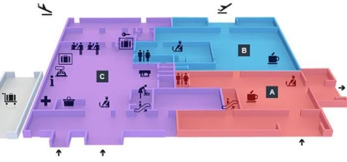 Схема аэропорта Геленджик