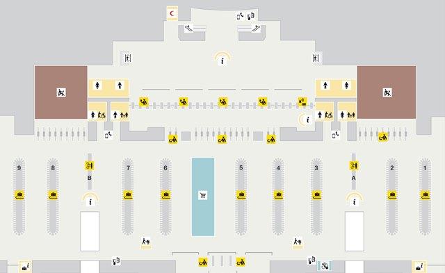 Схема аэропорта Дохи