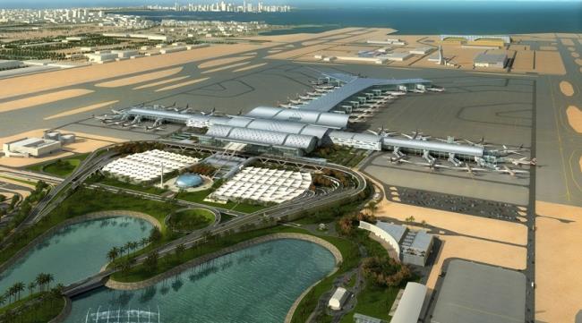 аэропорт Хамад вид сверху