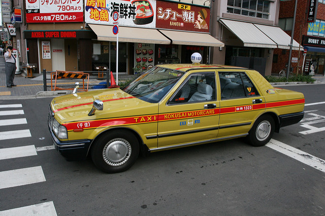 такси в Токио