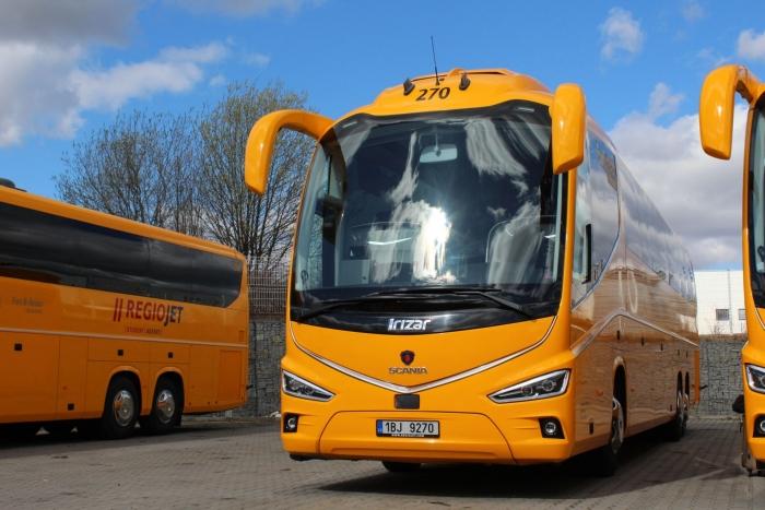 автобусы Regiojet