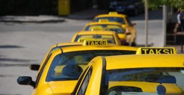 У всех официальных такси есть значок на крыше