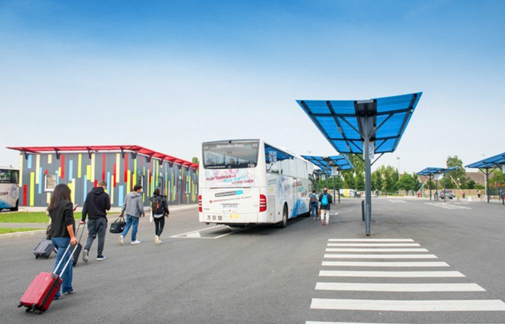 Автобус доставит из аэропорта Бове почти до центра Парижа