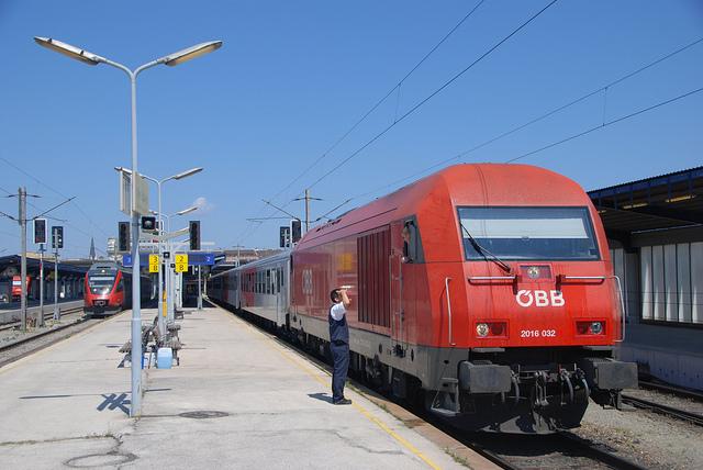 поезд из Братиславы в Вену