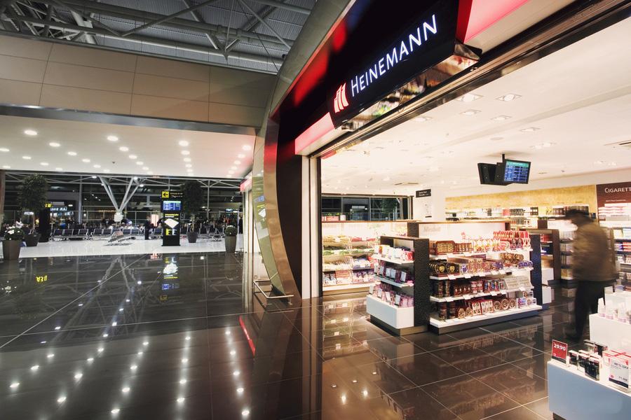 Дьюти фри в аэропорту Братиславы
