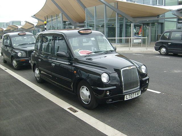 такси в аэропорту Хитроу