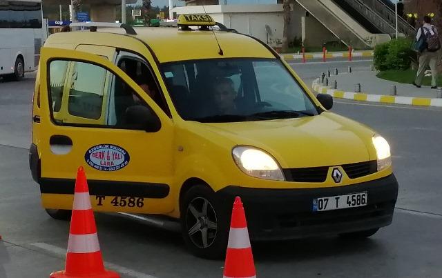 Такси в Турции, Алания