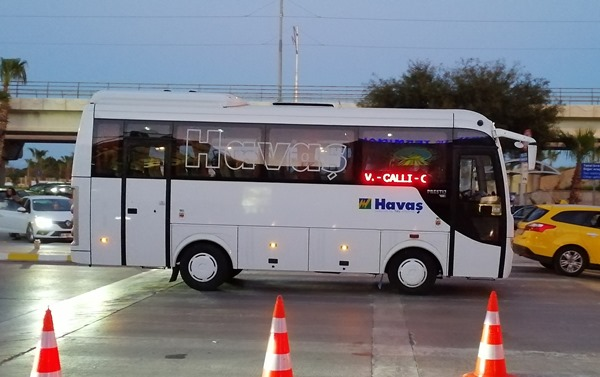 Автобус Хаваш в аэропорту