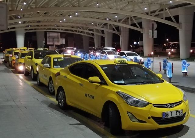 Стоимость такси в Турции