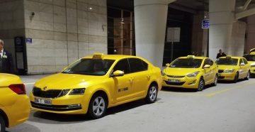 Такси в Стамбуле, Анталии и других городах Турции