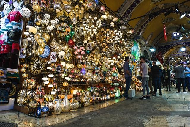 Гранд базар, центр Стамбула