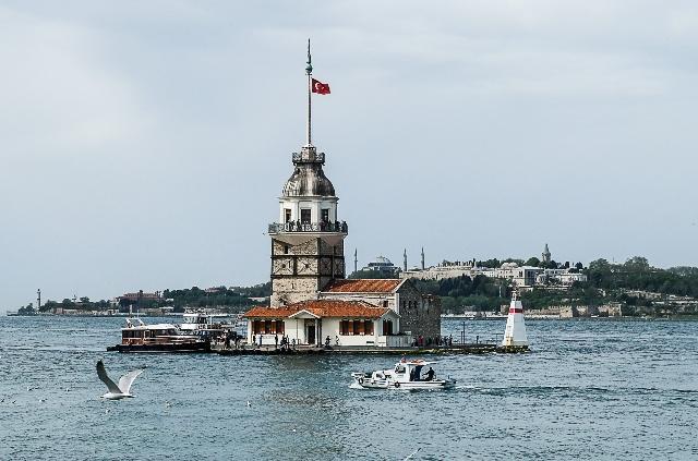 Достопримечательности Стамбула - Девичья башня