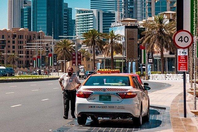Как вызвать такси в Дубае