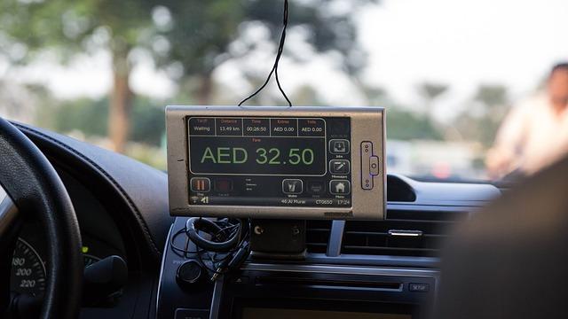 Стоимость такси в Дубае
