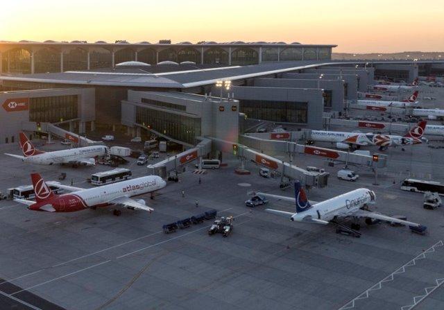 Терминал Нового аэропорта в Стамбуле