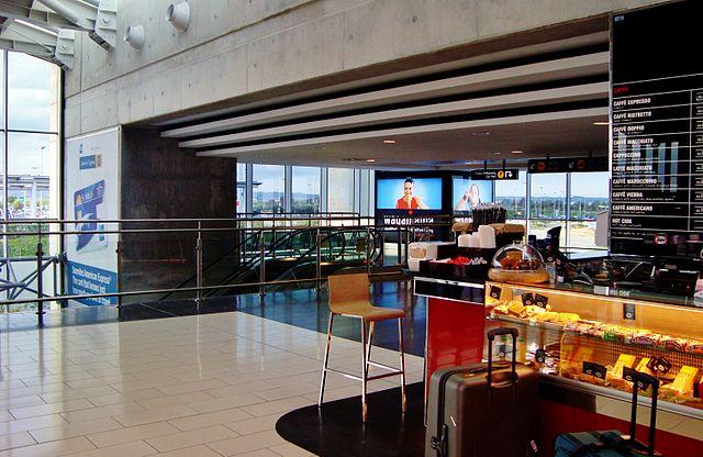 рестораны в аэропорту Ларнаки