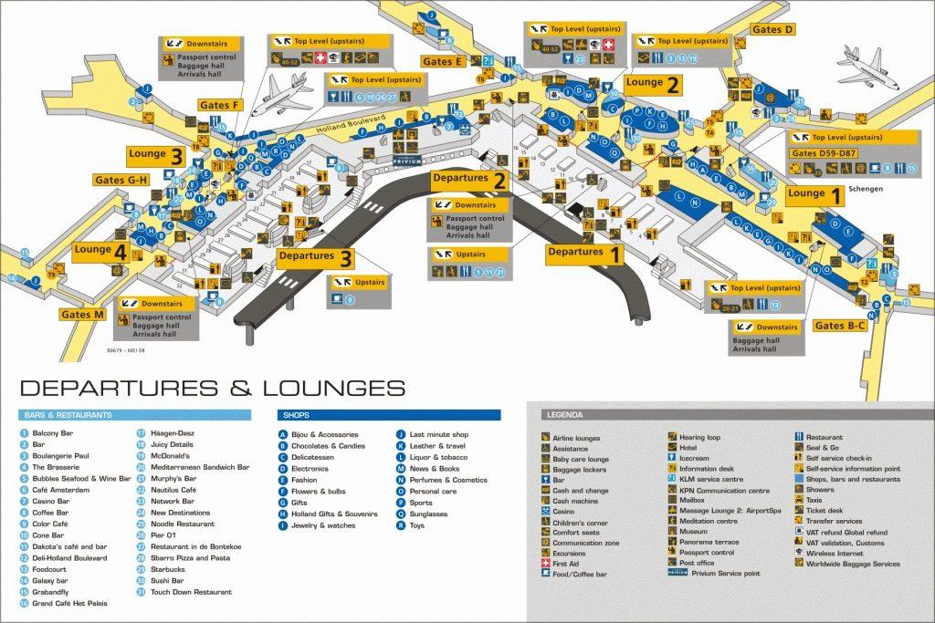 Схема аэропорта Ларнаки