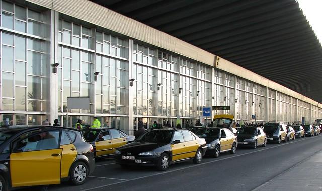 такси из аэропорта Барселоны Эль Прат