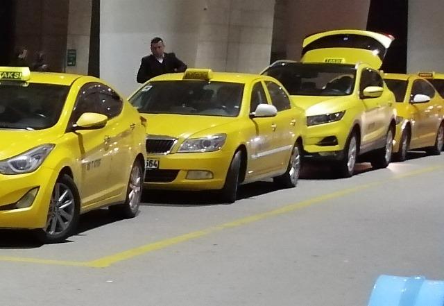 Такси в Белеке, Турция