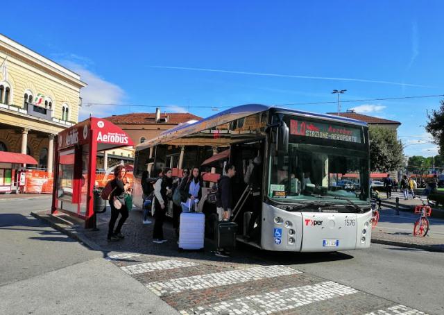 Автобус до аэропорта Болоньи