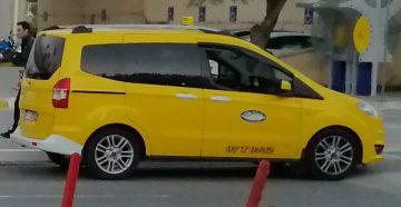 Такси в Турции на курорте Белек