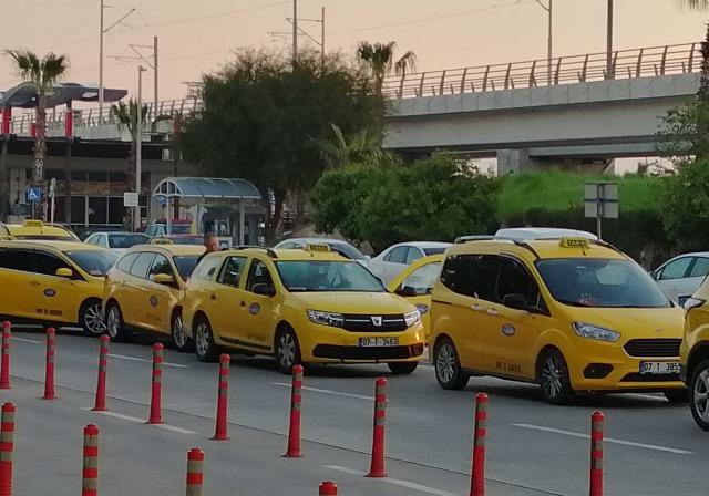 Такси в Турции, Белек-Анталия