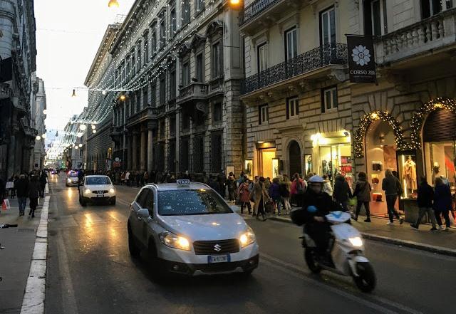 стоимость такси в Риме из аэропорта