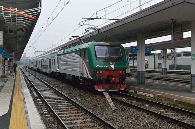 вокзал Бергамо