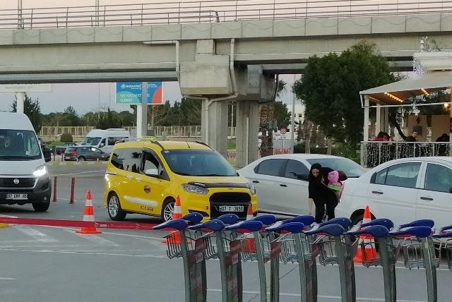 Такси в аэропорту Анталия