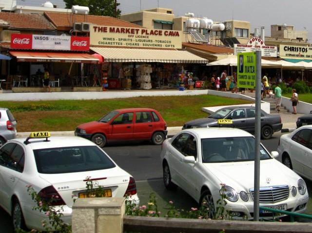 Такси на Кипре, Пафос