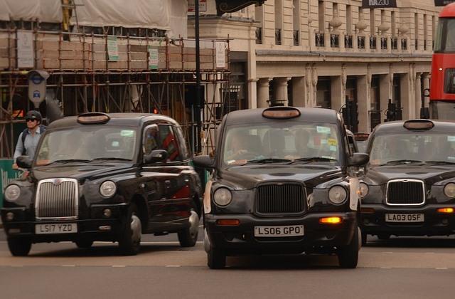 Стоимость такси Лондона