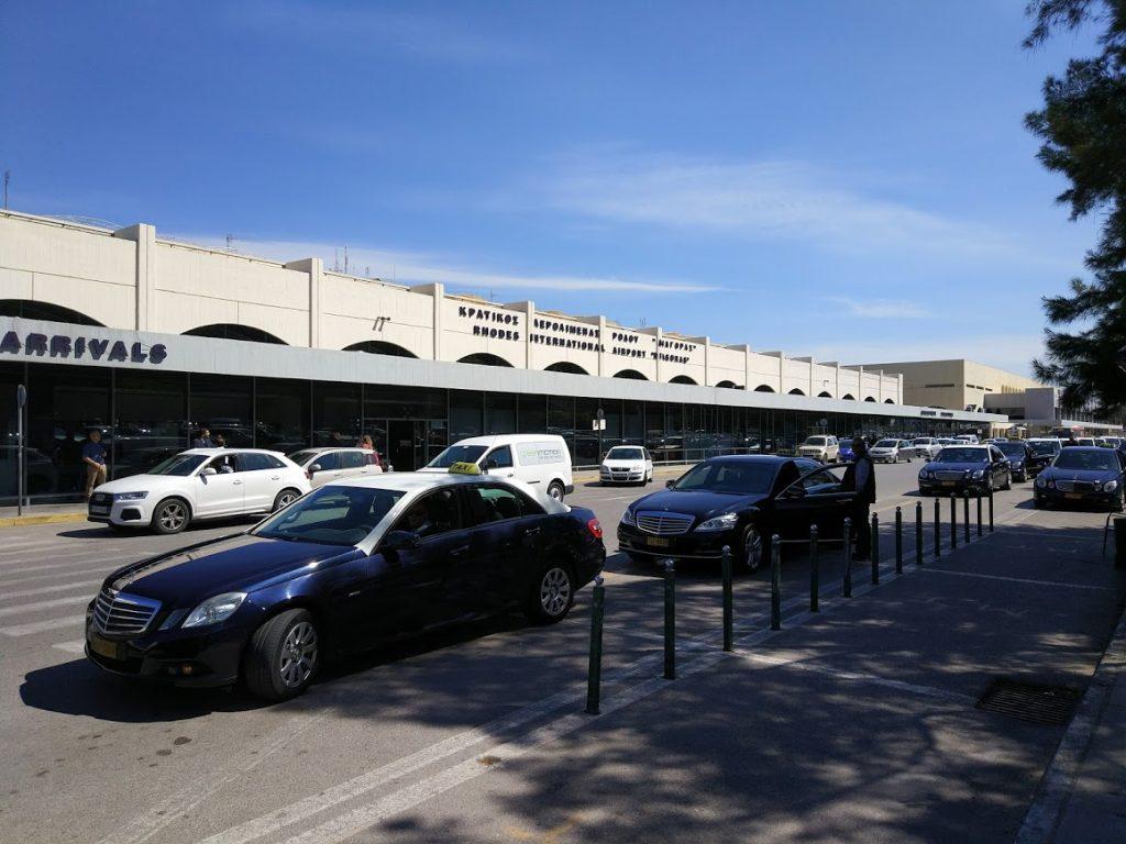 такси в аэропорту Родос