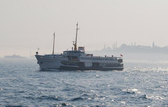Паром до пляжей Стамбула