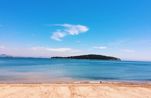 Пляж на Принцевых островах